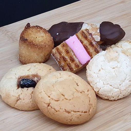 Afbeelding van Amandelbanket koekjes gesorteerd +/- 250gr