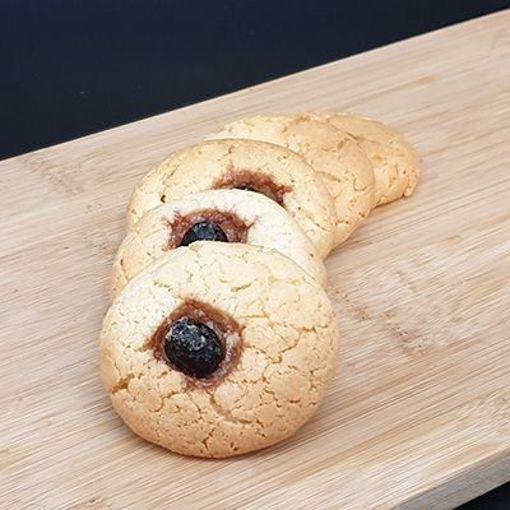 Afbeelding van Amandelbanket koekjes Kalfsogen +/-250gr