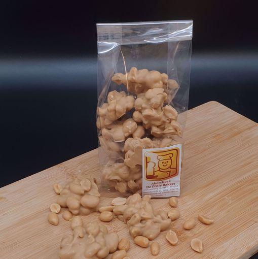 Afbeelding van Chocolade pindarotsjes caramel-zeezout