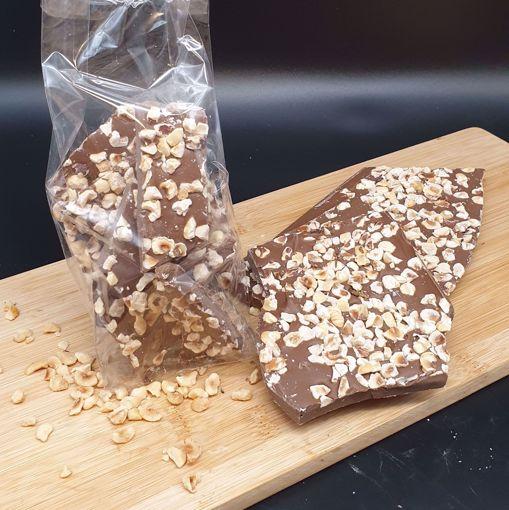 Afbeelding van Breekchocolade met hazelnoten melk